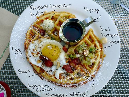 Anatomy of a Savory Waffle