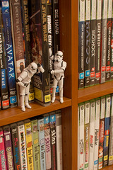A Night at the Movies (-spam-) Tags: canon movie toy starwars dvd avatar xbox games shelf plastic stormtrooper 365 figurine hasbro theempirestrikesback episode5 spacetrooper lifeonthedeathstar