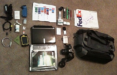 Contents of my new bag