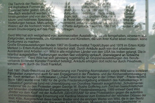Fernhaltung von der Kunst in Praunheim