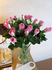 Two Dozen Pink Roses () Tags: sf sanfrancisco city pink roses party hotel downtown phone telephone centro thecity nikko soire posh expensive hotelroom hotelnikko sfist blackandwhiteball  pinkroses myhotel japanesedesign saofrancisco twodozen 2425 24thfloor nikkohotel twodozenroses japanesehotel  hotelnikkosanfrancisco may222010 room2425 twodozenpinkroses imperialclubfloor imperialclub nikkosanfrancisco saturdaymay222010