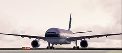 Cathay Pacific Airways A330 (aViaTioNuT) Tags: cx screenshots airbus a330 flightsimulator fsx cpa coth cathaypacificairways supershot anawesomeshot diamondclassphotographer flickrdiamond rubyphotographer flickraward