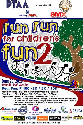 run run for childrens fun 2