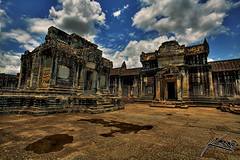 Small Temple in Angkor Wat - Seim Reap, Cambodia