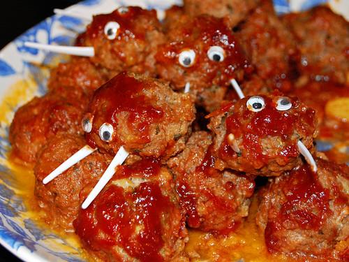 Boar Meatballs