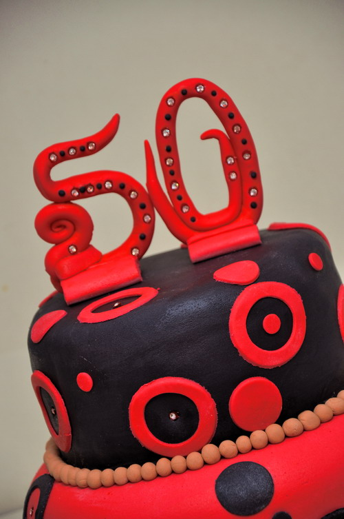 50th Birthday Cake Celebration