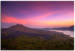 View from Kintamani, Bali (YYZDez) Tags: sea bali sunrise indonesia landscape island volcano java asia southeastasia hdr magichour goldenhour lakebatur denpasar kintamani penelokan lessersundaislands indonesianisland