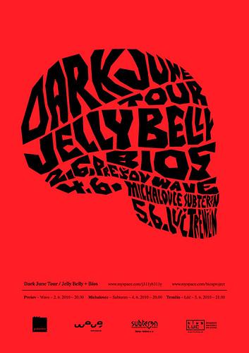 Dark June Tour / Jelly Belly, Bios