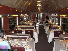 Dining Room on the Car