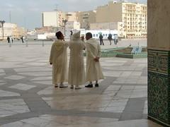 Mosque Hassan II -    (yas784) Tags: africa towers north twin moro