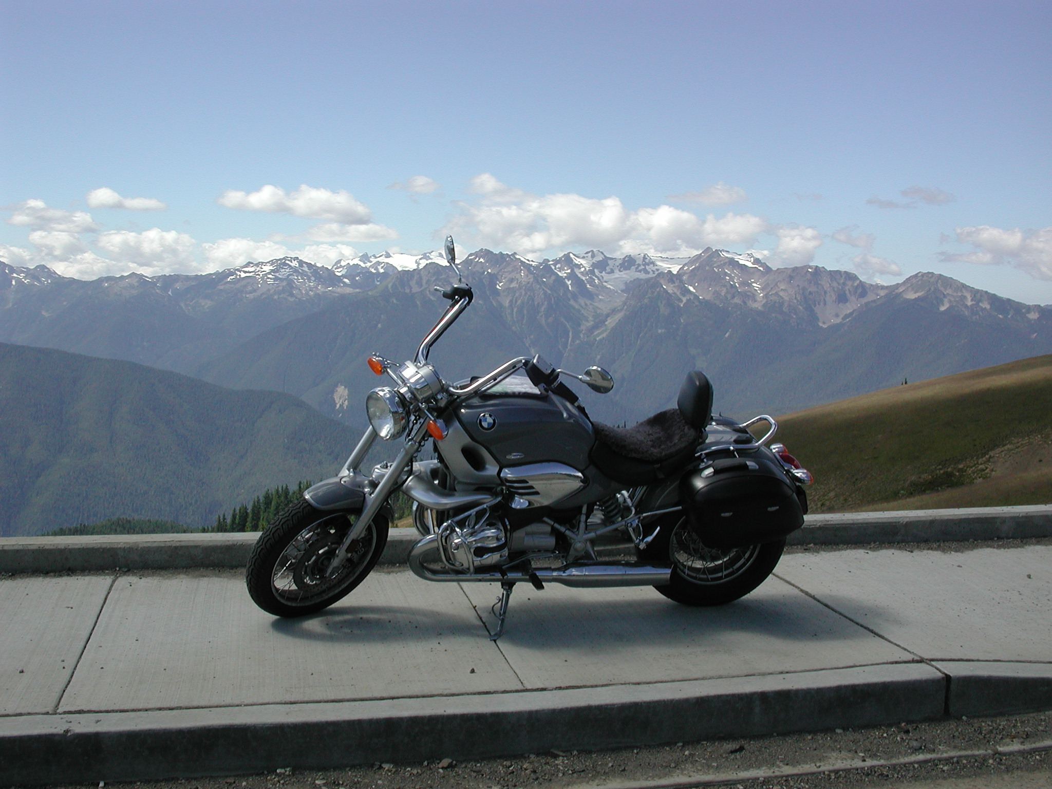 Ride to Hurricane Ridge, WA