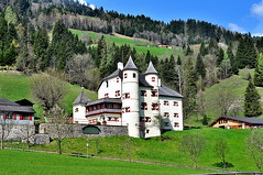 Bad Hofgastein Castle and Restaurant (Turist of the World) Tags: mountain castle austria nikon hill