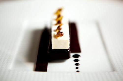 Chocolate noir rehaussé de citron vert