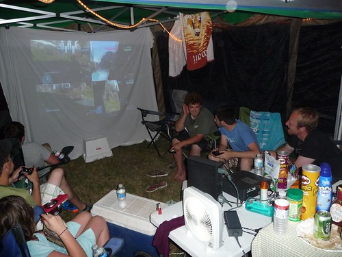 xbox camping.