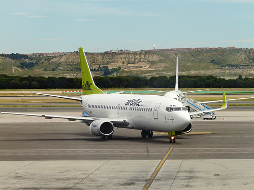 Air Baltic en Barjas