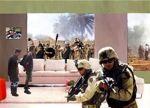 Martha Rosler, Gladiators, 2004, Photomontage