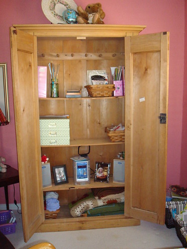 My craft armoire