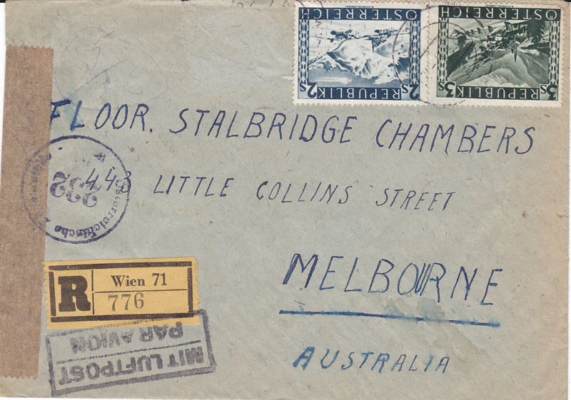 Zensurierte Bedarfspost nach Australien 4667645734_0be58c918a_b