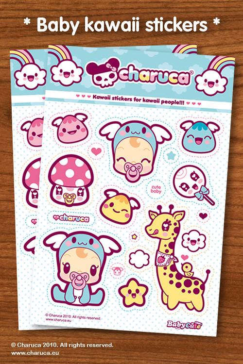 Charuca Baby Stickers 500