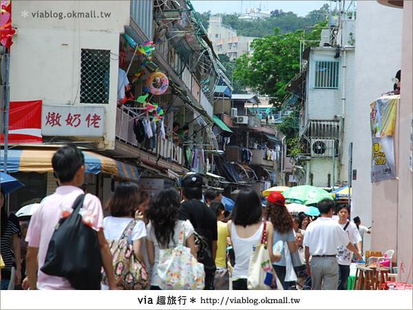 【2010香港節慶年 】香港節慶盛事~長洲太平清醮包山節(上)18