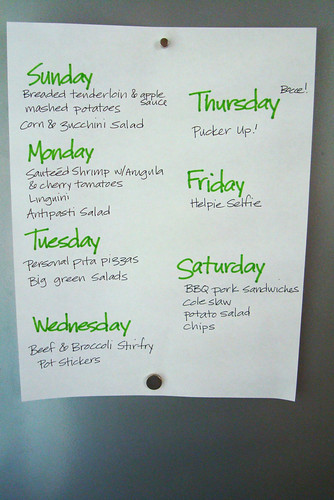 Meal Plan June 6-12