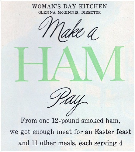 make a ham pay