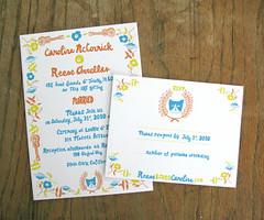 Wedding Invites (Willbryantplz) Tags: california wedding love ukulele kitty invites