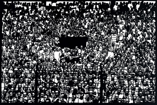 Adam5-100, Ghana Soccer Crowd
