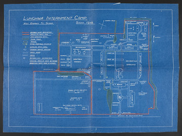 J G Ballard Archive Camp Blueprint