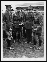 Earl Haig with the King at rugby match at Twickenham in 1919 (National Library of Scotland) Tags: old field fashion infantry portraits vintage army war uniform general boots britain propaganda military wwi great photojournalism riding worldwari cap worldwarone british uniforms ww1 britisharmy greatwar firstworldwar officer cavalry generals medals twickenham officers haig breeches doubleportraits militaryuniforms thegreatwar militaryofficer ridingboots kinggeorgev inuniform 19141918 rugbyfields peakcap uniformjacket armyofficer warphotography photographicprints commandingofficers ridingbreeches xmlns:foaf=httpxmlnscomfoaf01 kingspeople officerwearinguniform nls:dodprojectid=74462370 organization:library=nationallibraryofscotland owner:name=nationallibraryofscotland nls:source=solrxml blackandwhiteprintsphotographs worldwar19141918armistices worldwar19141918campaignswesternfront officersmilitaryofficers nls:dodid=74549724 nls:derivative=159516 foaf:depicts=httpnlagovaunlaparty818664