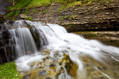 Waterfall (Romain Cassagne) Tags: wild nature water forest waterfall eau chartreuse cascade fontaine cirque fort sigma1020mm polarisant cakin stmme canon7d romaincassagne nd8g