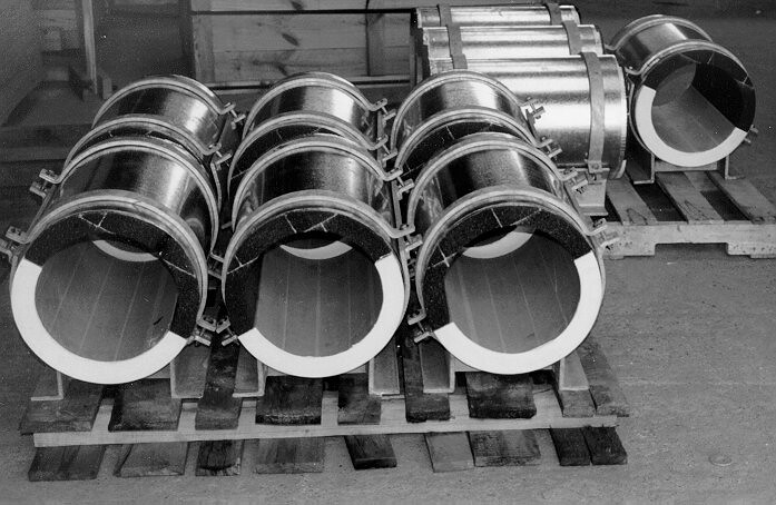 Pipe Shoes for Hot Temperature Applications