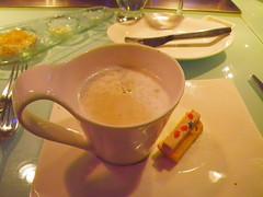 卡布奇諾鴨肝濃湯