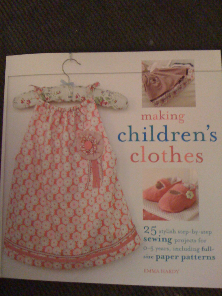 New Book--Making Children's Clothes