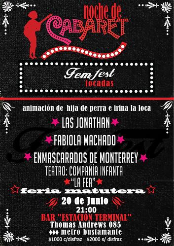 afiche-femfest-2O-junio-CABARET