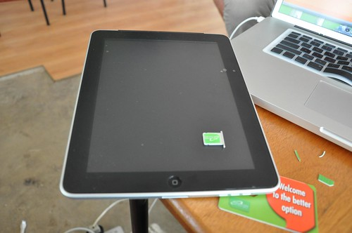 Safaricom & Ipad