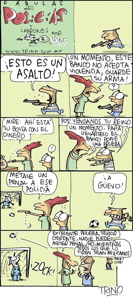 """""""Fábulas de Policías y Ladrones"""" del 14/06/10 por Trino"""