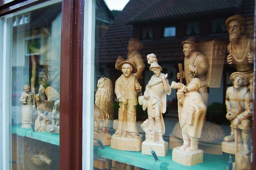 All the wooden men of deutschland