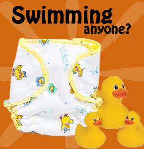 Swim diapers