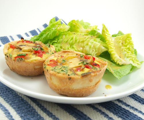 Mini-Veggie Quiche