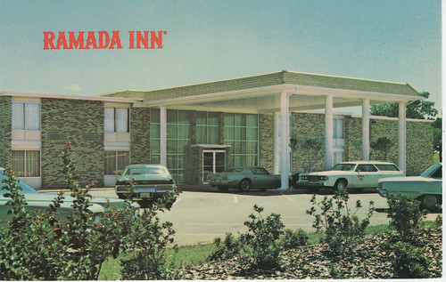 POSTCARD: Ramada Inn (Ardmore)