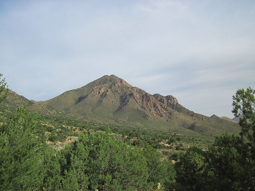 Northern Organ Mountains Peak