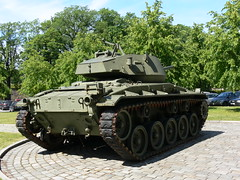 M24 Chaffee (A.Nilssen Photography) Tags: tank akershus fortress festning 2009 festung chaffee m24 oslooslo