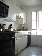 Full kitchen in each student apartment