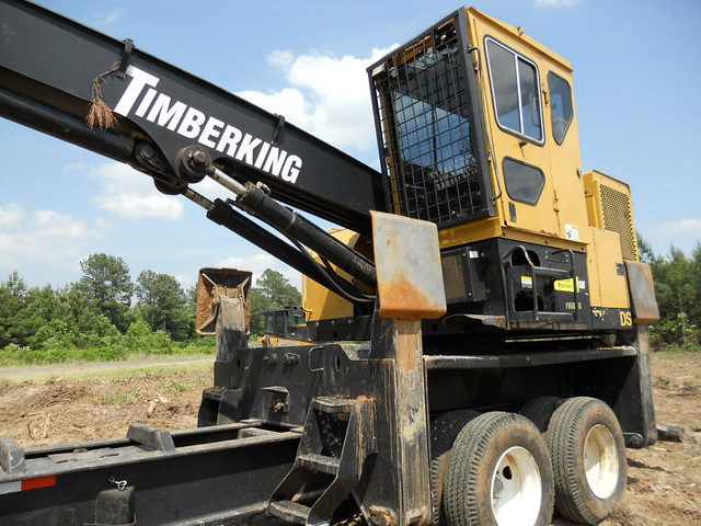 Timberking 575D Knuckleboom with CTR 450 for Sale by Forestry First