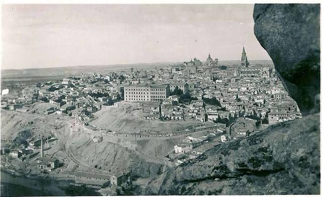 Toledo desde la Piedra del Rey Moro