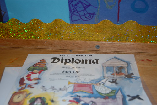 Diploma for the year