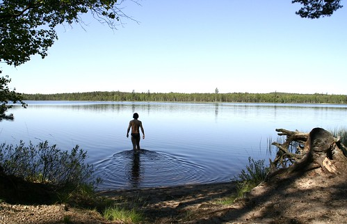 Swimming in Småland