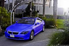 (Talal Al-Mtn) Tags: blue 6 green cars colors grass automobile s automotive company bmw kuwait gt m6 v8 v10 v6 q8 granturismo stiker kwt lumar vkool bmw630i lm10 mattblue talalalmtn  bmwinkuwait talalalmtnphotography photographybytalalalmtn alghanimkuwait zebart