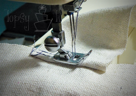 canvas satchel tutorial sewing bottom
